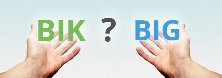 BIK i BIG – czym się różnią?